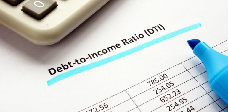 Know Your Debt-to-Income Ratio