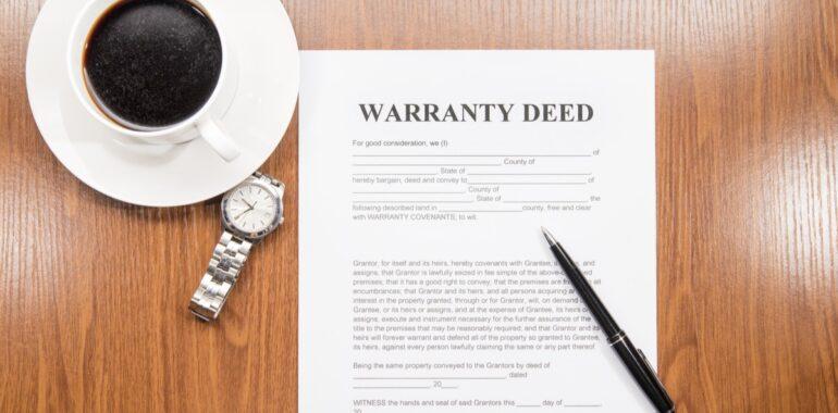 Types of Property Deeds